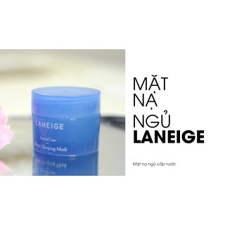 Mặt nạ ngủ Water Sleeping Pack EX 15ml - MASK15ML thumbnail