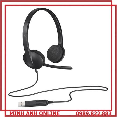 Tai nghe chụp tai Logitec H340 cao cấp