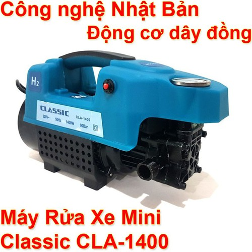 Máy xịt rửa xe mini áp lực cao Classic1400 gia đình - Bơm tự hút phun nước vệ sinh xe máy, ô tô, máy lạnh - 11691607 , 18991073 , 15_18991073 , 1600000 , May-xit-rua-xe-mini-ap-luc-cao-Classic1400-gia-dinh-Bom-tu-hut-phun-nuoc-ve-sinh-xe-may-o-to-may-lanh-15_18991073 , sendo.vn , Máy xịt rửa xe mini áp lực cao Classic1400 gia đình - Bơm tự hút phun nước vệ