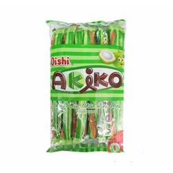 Bánh Snack Akiko Nhân Dừa 160g  20 que x 8g