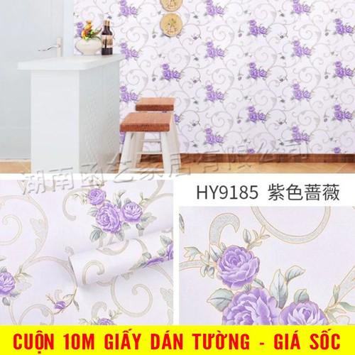 Decal dán tường - giấy dán tường cuộn 10m
