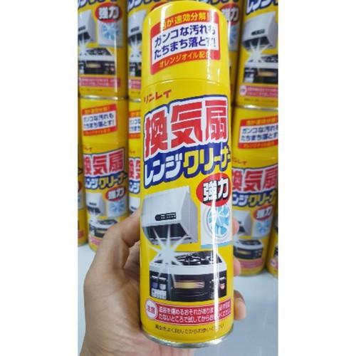 Chai xịt tẩy rửa dầu mỡ Rinrei 330ml của Nhật Bản Tẩy sạch những vết bẩn ngoan cố - 11695573 , 18998028 , 15_18998028 , 145000 , Chai-xit-tay-rua-dau-mo-Rinrei-330ml-cua-Nhat-Ban-Tay-sach-nhung-vet-ban-ngoan-co-15_18998028 , sendo.vn , Chai xịt tẩy rửa dầu mỡ Rinrei 330ml của Nhật Bản Tẩy sạch những vết bẩn ngoan cố