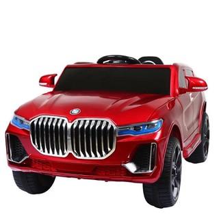Ô Tô Điện Cao Cấp Cho Trẻ Em 1 Chỗ Địa Hình KHỦNG BJQ-X7, Màu Đỏ, 2 động cơ+ 2 ắc qui siêu khỏe, bảo hành 6 tháng - BJQ-X7D thumbnail