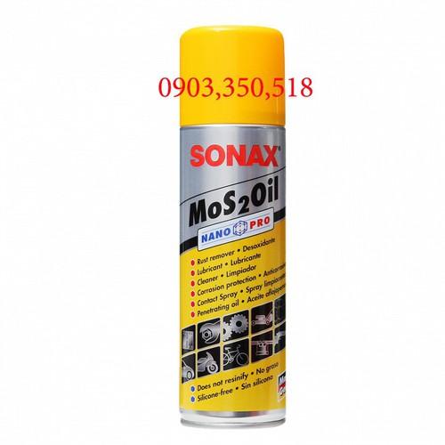 Dầu chống rỉ sét không mùi sonax mos2oil 339 200, 300ml