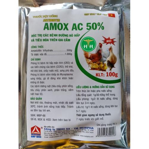 Amox ac 50 100g - đặc trị bệnh  đường hô hấp và tiêu hoá trên gà chim - 17173728 , 18984111 , 15_18984111 , 90000 , Amox-ac-50-100g-dac-tri-benh-duong-ho-hap-va-tieu-hoa-tren-ga-chim-15_18984111 , sendo.vn , Amox ac 50 100g - đặc trị bệnh  đường hô hấp và tiêu hoá trên gà chim