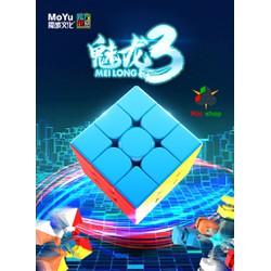 Rubik 3x3 không viền - MeiLong 3 Stickeress