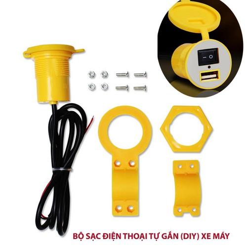 Đầu sạc điện thoại tự lắp - DIY gắn trên xe máy đầu vào 12V ra 5V1.5A - 11691284 , 18990670 , 15_18990670 , 129000 , Dau-sac-dien-thoai-tu-lap-DIY-gan-tren-xe-may-dau-vao-12V-ra-5V1.5A-15_18990670 , sendo.vn , Đầu sạc điện thoại tự lắp - DIY gắn trên xe máy đầu vào 12V ra 5V1.5A
