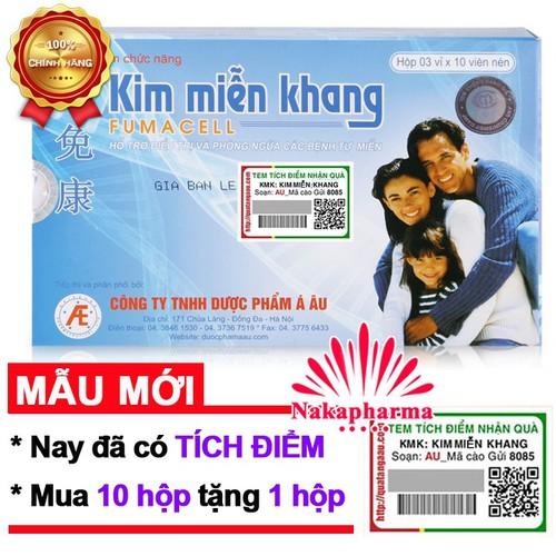 ✅ [10 TẶNG 1] Kim Miễn Khang – Điều hòa hệ miễn dịch, hỗ trợ điều trị lupus ban đỏ, bạch biến, vẩy nến, đa xơ cứng