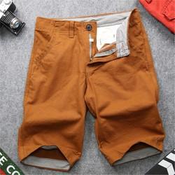 Quần shorts kaki nam màu da bò QQ133 Muidoi