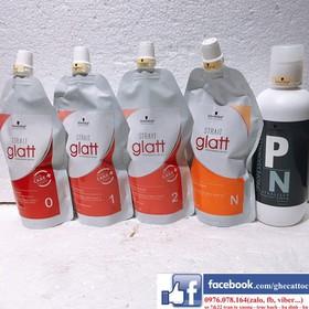 CẶP THUỐC UỐN TÓC GLATT SCHWARZKOPF GLATT - UỐN GLATT 1