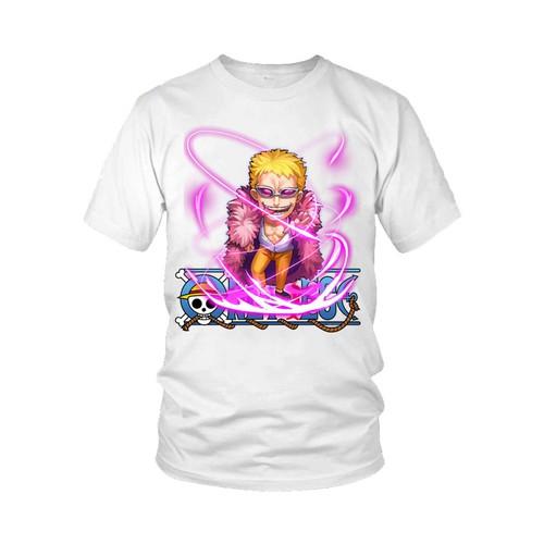 Áo thun thời trang in hình One Piece Mẫu 9