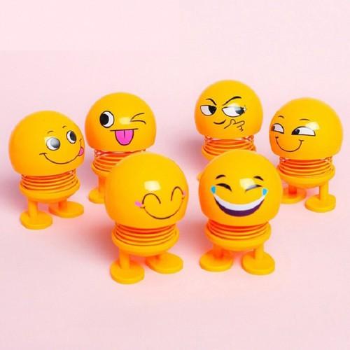 Combo 3 Bé Emoji Nhún Lò Xo Với 3 Biểu Cảm Khác Nhau