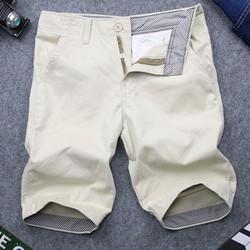 Quần shorts kaki nam kem QQ183 MĐ kem