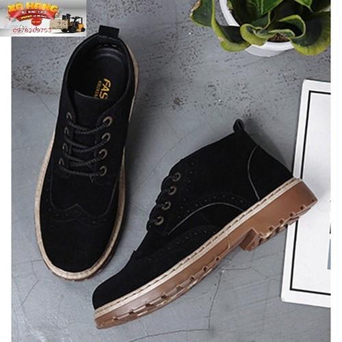 Giày bot nam thời trang trẻ trung năng động