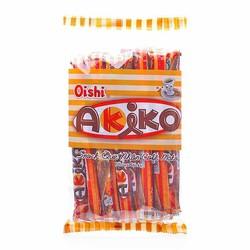 Bánh snack que nhân cà phê moka Akiko gói 160g  20 thanh x 8g
