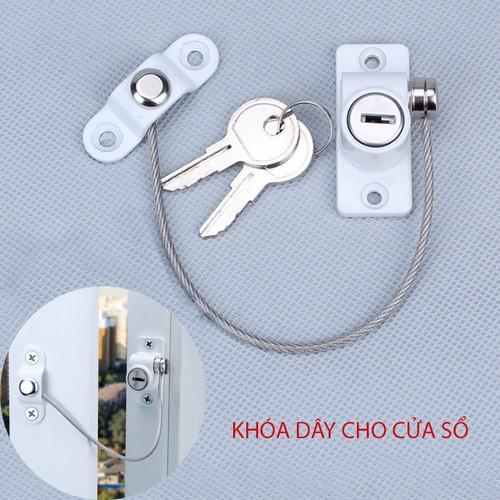 Khóa dây cho cửa sổ J6405 chống trộm, an toàn cho trẻ - 11693920 , 18995209 , 15_18995209 , 199000 , Khoa-day-cho-cua-so-J6405-chong-trom-an-toan-cho-tre-15_18995209 , sendo.vn , Khóa dây cho cửa sổ J6405 chống trộm, an toàn cho trẻ