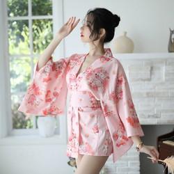 Áo ngủ kiểu kimono