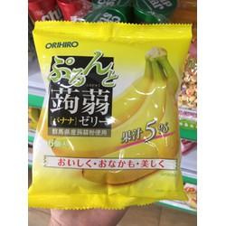 Thạch rau câu Orihiro vị chuối