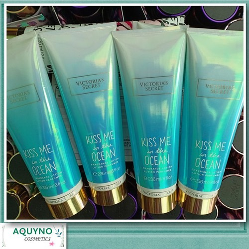 Dưỡng thể  victoria secret  fragrance lotion kiss me in the ocean 236ml