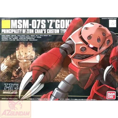 Đồ chơi mô hình lắp ráp Gundam Bandai HG MSM-07S Chars Z Gok