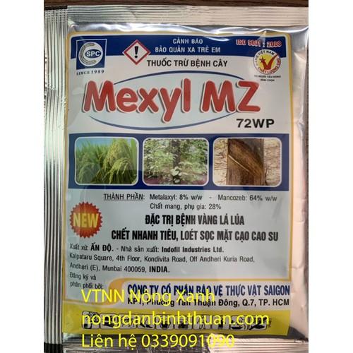 Thuốc trừ bệnh vàng lá, thối rể mexyl mz 72wp