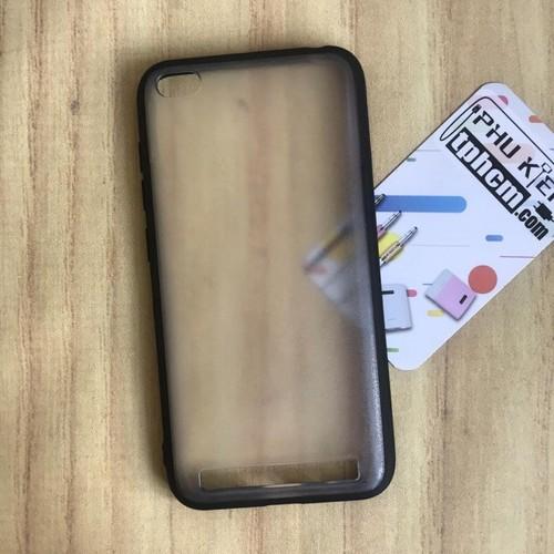 Ốp lưng Xiaomi Redmi 5A Nhám viền Dẻo đen
