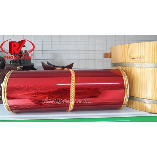 Trống cơm bằng nhựa màu đỏ
