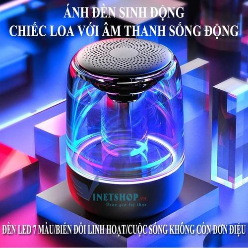 Loa Bluetooth Trên Dưới Trong Suốt Yayusi C7, Loa Dưới Siêu Bass Âm Thanh HIFI To Bass Siêu Rung, Âm Thanh Vòm Lập Thể, Đèn Led 7 Màu, Nghe Liên Tục Khoảng 6H, Hỗ Trợ Thẻ Nhớ, Loa Bluetooth Mini Giá R - 11701432 , 19007352 , 15_19007352 , 360000 , Loa-Bluetooth-Tren-Duoi-Trong-Suot-Yayusi-C7-Loa-Duoi-Sieu-Bass-Am-Thanh-HIFI-To-Bass-Sieu-Rung-Am-Thanh-Vom-Lap-The-Den-Led-7-Mau-Nghe-Lien-Tuc-Khoang-6H-Ho-Tro-The-Nho-Loa-Bluetooth-Mini-Gia-Re-15_190073