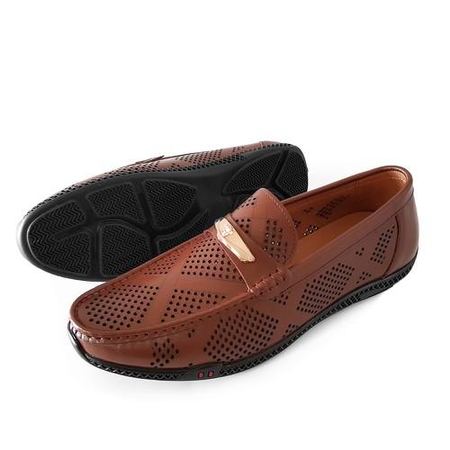 Giày mọi nam da bò thời trang.