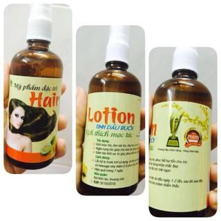 tinh dầu bưởi kích thích mọc tóc dày dài trị rụng tóc chống hói đầu - 015100 thumbnail