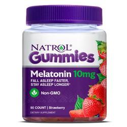 Bill Mỹ - Kẹo dẻo giúp ngủ ngon Melatonin 10mg NON-GMO  của Natrol Gum