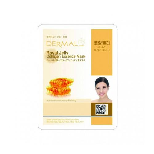 Mặt Nạ Dưỡng Da Chiết Xuất Sữa Ong Chúa Dermal 23g  Royal-Korea Jelly Collagen Essence Mask - 11177255 , 19010056 , 15_19010056 , 9000 , Mat-Na-Duong-Da-Chiet-Xuat-Sua-Ong-Chua-Dermal-23g-Royal-Korea-Jelly-Collagen-Essence-Mask-15_19010056 , sendo.vn , Mặt Nạ Dưỡng Da Chiết Xuất Sữa Ong Chúa Dermal 23g  Royal-Korea Jelly Collagen Essence Mask