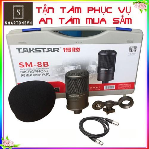 micro thu âm live stream Takstar SM - 8B cao cấp