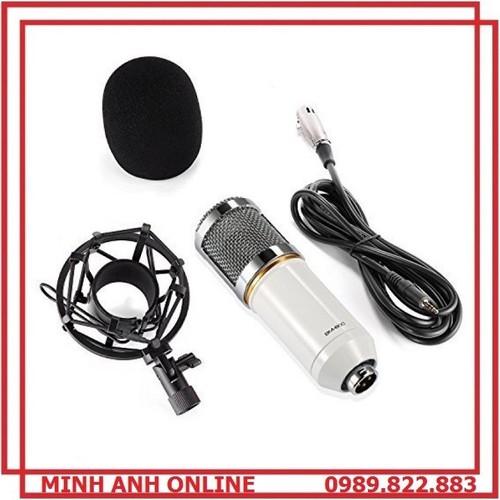 Micro thu âm hát livestream BM800