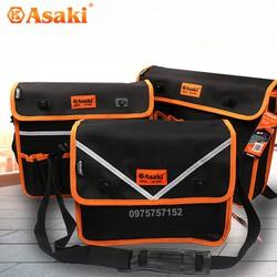 Túi đựng đồ nghề cao cấp Asaki, túi đựng dụng cụ sửa chữa chuyên dụng, vải chống thấm, chống đâm thủng, đa năng Asaki AK-9984, AK-9985, AK-9986, AK-9987, AK-9988, AK-9989, AK-9990, AK-9991, AK-9992, AK-9993