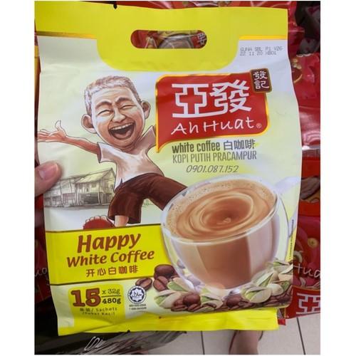Cà phê trắng - Ahhuat White Coffee Hạt Dẻ Cười