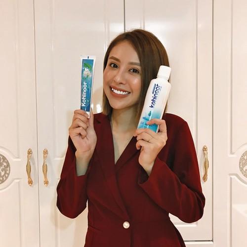 bộ đôi siêu phẩm nước súc miệng Kohinoor và kem đánh răng dược liệu Kohinoor