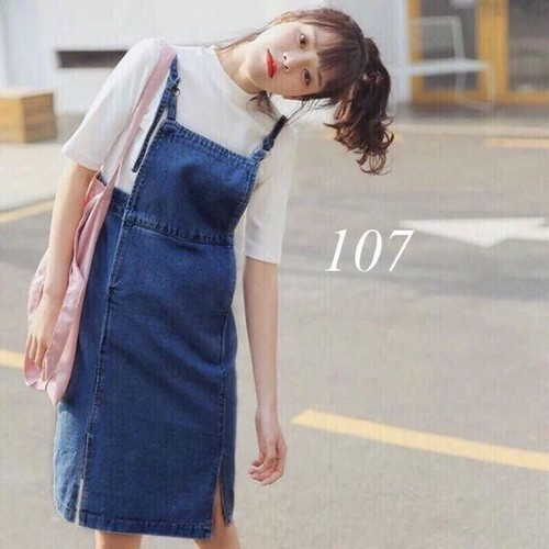 quần yếm jean nữ cute - 11706502 , 19015492 , 15_19015492 , 165000 , quan-yem-jean-nu-cute-15_19015492 , sendo.vn , quần yếm jean nữ cute