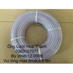 Ống nước nhựa PVC 8ly xuất khẩu