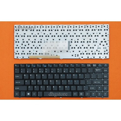 Bàn phím laptop MSI CR420, FX400, X350 MÀU ĐEN