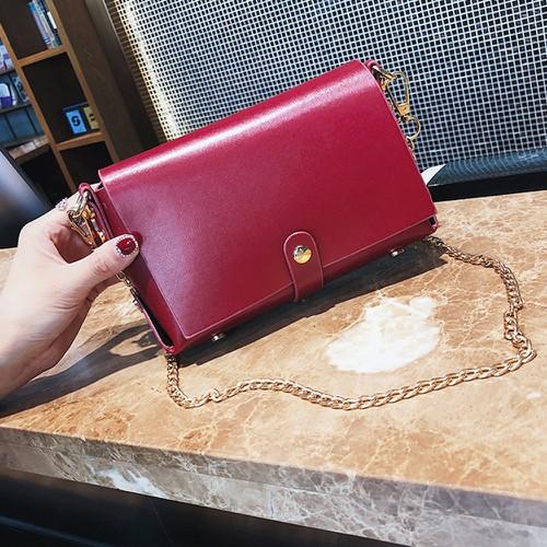 Túi đeo chéo hình chữ nhật nhỏ xinh phong cách Hàn Quốc