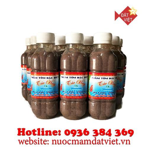Combo 5 chai mắm tôm Ba Làng Thanh Hóa 300g loại đặc biệt