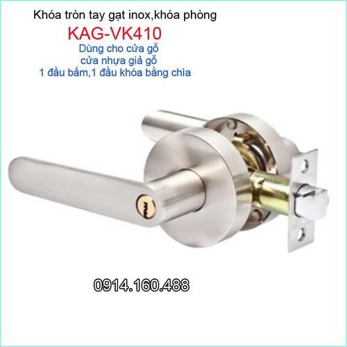 Khóa cửa phòng tay gạt, khóa cửa Vickini KAG-VK410