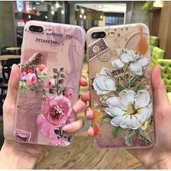 ốp iphone - ốp lưng iphone -Ốp dẻo hoa châu Âu cho iphone 6 6s 7 8 x xs xr xs max 11 11 pro max 12 12pro 12promax 12mini