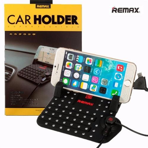 Giá đỡ điện thoại kiêm sạc trên xe hơi