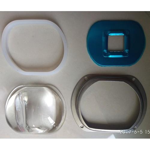 GƯƠNG CẦU LED D107MM - 120 ĐỘ