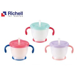 Cốc tập uống 3 giai đoạn Richell 150ml - RC93794