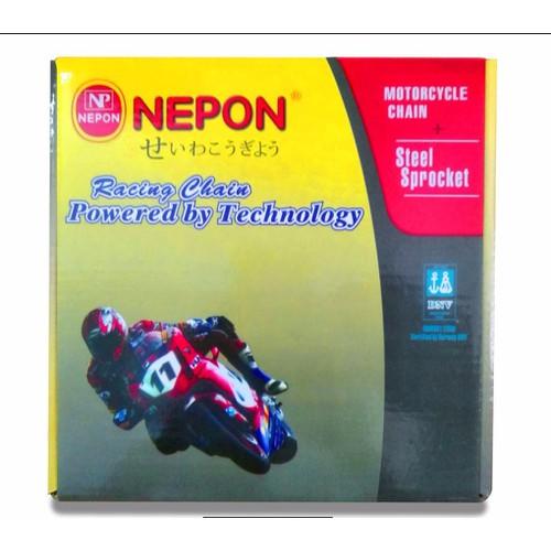 Bộ sên nhông dĩa Nepon cho xe Taurus 115 - 11705799 , 19014606 , 15_19014606 , 235000 , Bo-sen-nhong-dia-Nepon-cho-xe-Taurus-115-15_19014606 , sendo.vn , Bộ sên nhông dĩa Nepon cho xe Taurus 115