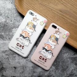 Ốp iphone Cat ốp dẻo chống ố chống bám vân tay đủ mã iPhone 6 6s 7 8 plus x xs xr xs max