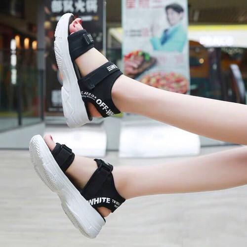 Giày sandanl đế đúc siu xinh